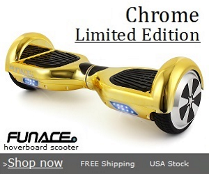 hoverboard chrome