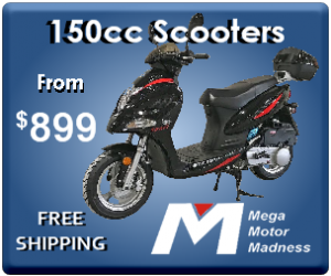 150cc scooters for sale